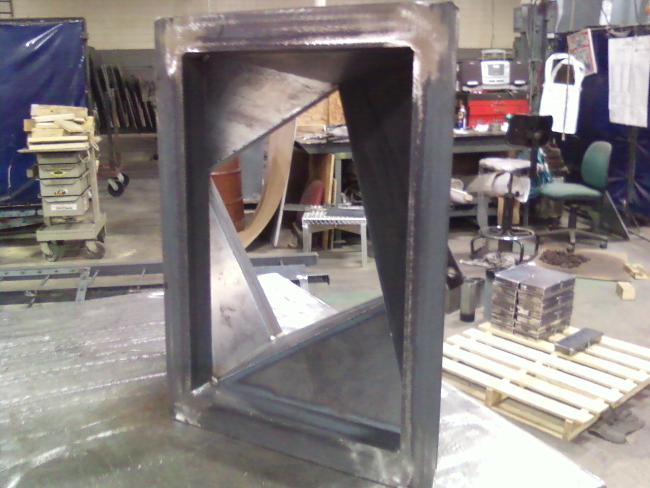 custom metal fabrication msm works minneapolis mn. Black Bedroom Furniture Sets. Home Design Ideas