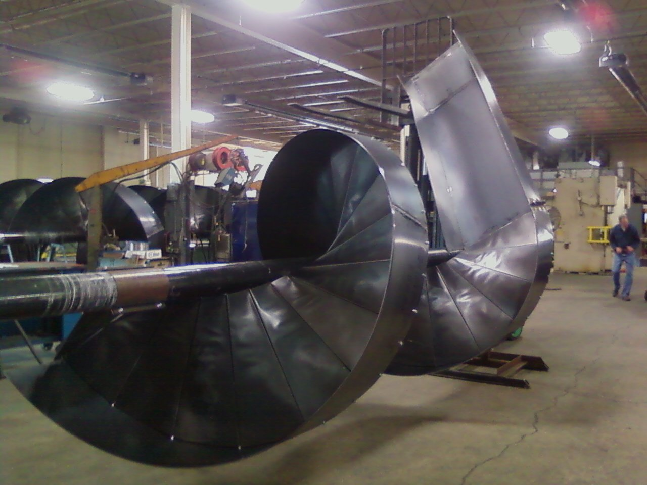 Custom Industrial Spiral Chutes Minneapolis Sheet Metal
