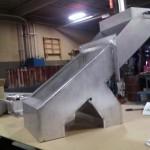 custom metal chute
