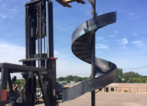 Custom Industrial Spiral Chutes Minneapolis Sheet Metal